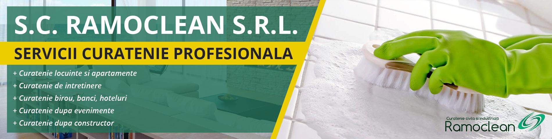 S.C. RAMOCLEAN S.R.L. - Servicii Curatenie Brasov - Ghimbav